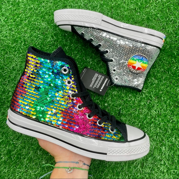 Converse All Star Chuck 70 Hi Rainbow